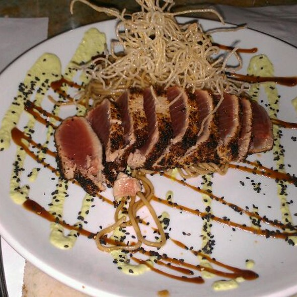 7 Spiced Big Eye Tuna