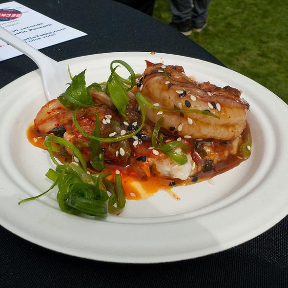 Mongolian BBQ Shrimp - House of Tricks, Tempe, AZ