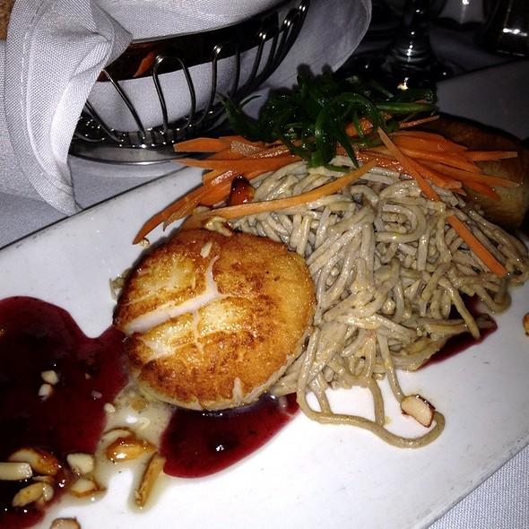 Two Seared Sea Scallops @ Croce's Restaurant & Jazz Bar