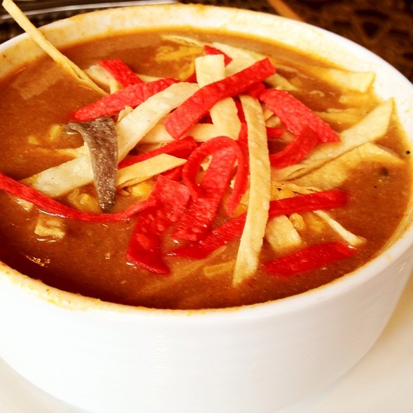 Chicken Tortilla Soup - NOE GRILL at the Omni Houston Hotel, Houston, TX