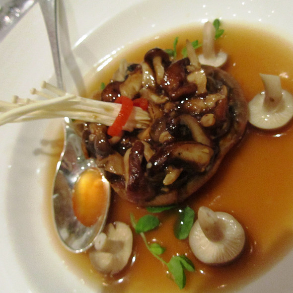 mushrooms @ Kai Mayfair