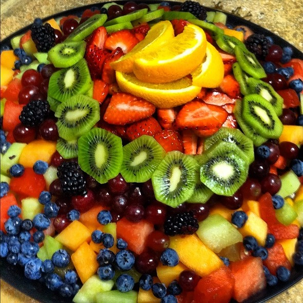 Xxxl Bowl Of Fruit @ C & G's Country Cafe