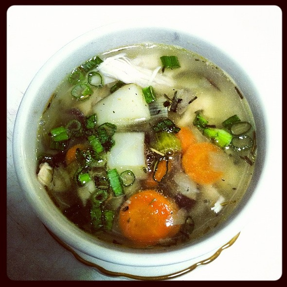 Country Chicken Soup @ C & G's Country Cafe