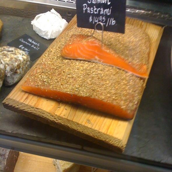 Salmon Pastrami @ Goose the Market