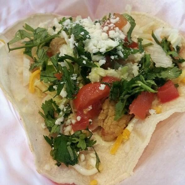 Soft Crawfish Baja Taco @ Fuzzy's Taco Shop