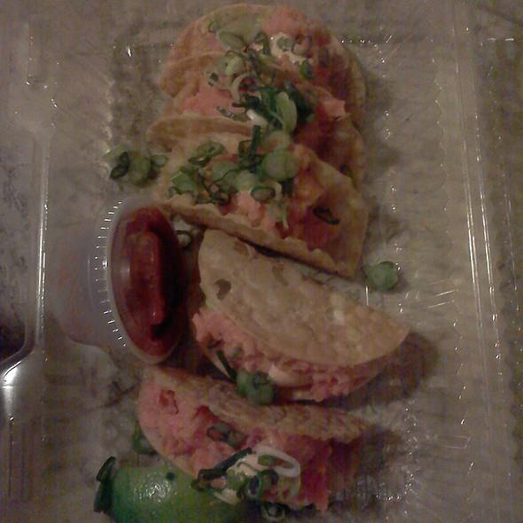 Salmon Tacos @ Sushi Maki