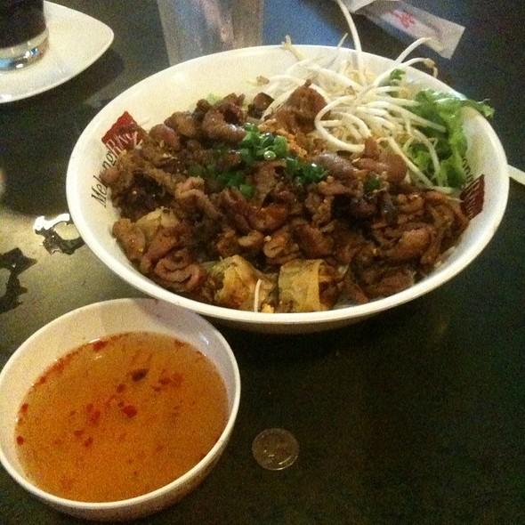 Grilled Pork Vermicelli @ Mekong River Restaurant
