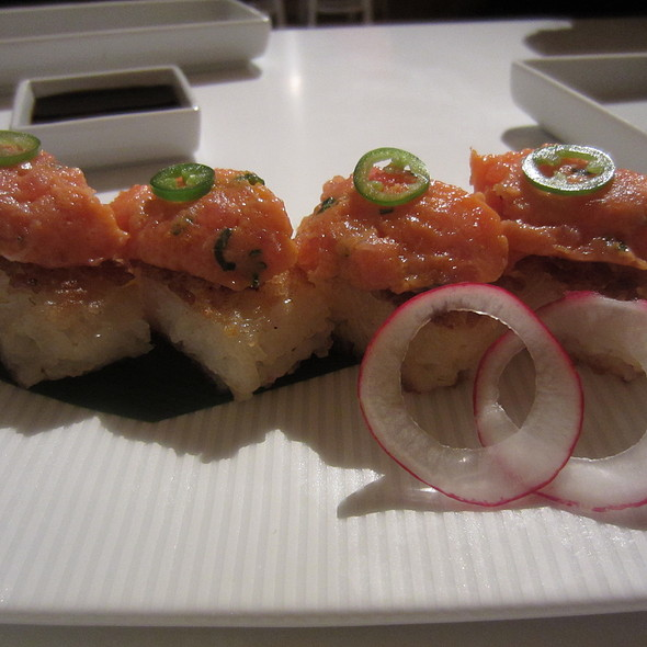 Crispy Rice with Spicy Tuna @ Katsuya Houston