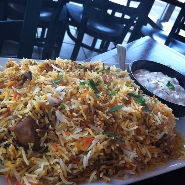 Chicken Biryani @ Tandoori Fresh
