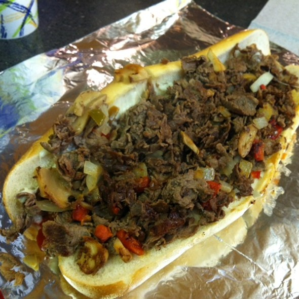 Philly Cheesesteak @ Ishkabibble's Eatery