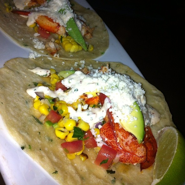 Lobster Tacos - Eddie V's - City Centre, Houston, TX
