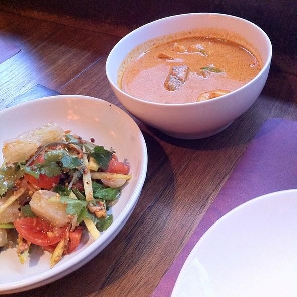 Pomelo Salad And Beef Curry @ Busaba Eathai