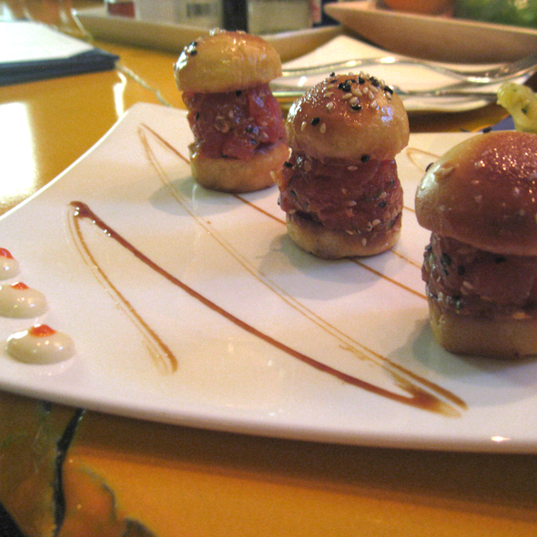 Tuna Tartar Sliders