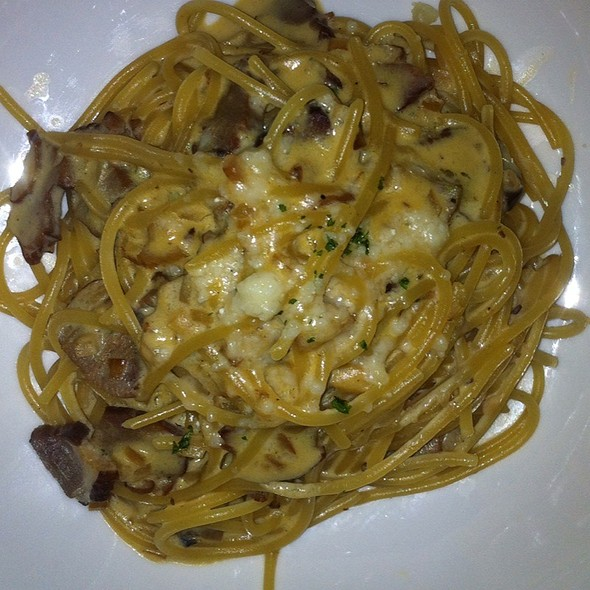Spaghetti Carbonara @ Potato Head Bali