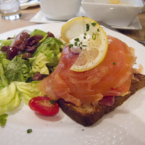 Smoked salmon - Smorgas Chef @ Scandinavia House, New York, NY
