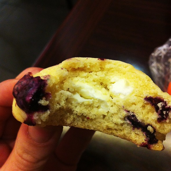Lemon Blueberry Cheesecake Cookies @ Home