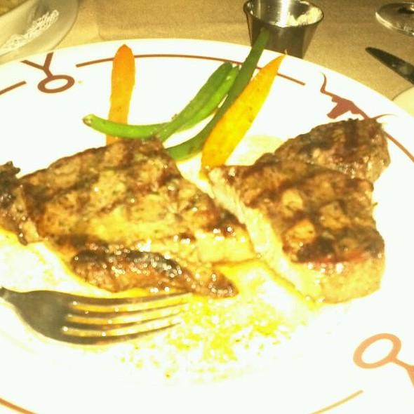 Dry Aged New York Steak - Y.O. Ranch Steakhouse, Dallas, TX