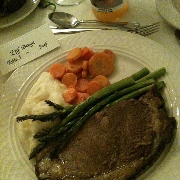 Beef entree - JW's Steakhouse - Griffin Gate Marriott Resort, Lexington, KY