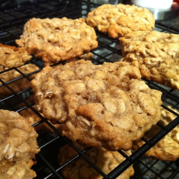 cinnamon oatmeal cookies @ Sparks Recipes