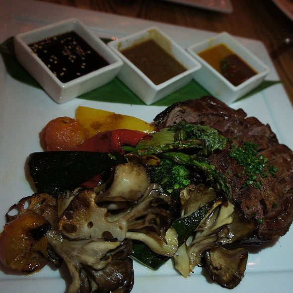 Ribeye with Three Sauces @ Nobu Waikiki