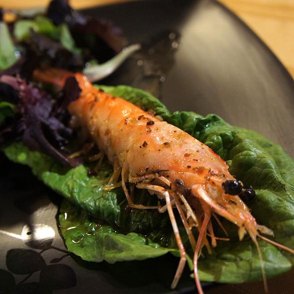 shrimp salad @ Shogunai Tajine