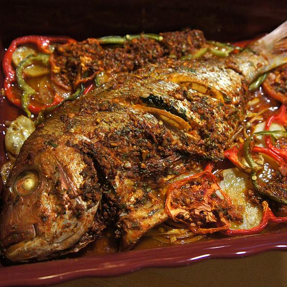 Tai snapper with Moroccan spices @ Shogunai Tajine
