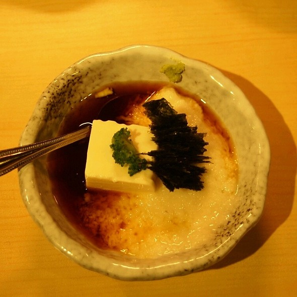 Grounded Japanese Yam With Tender Tofu @ 築地巿埸