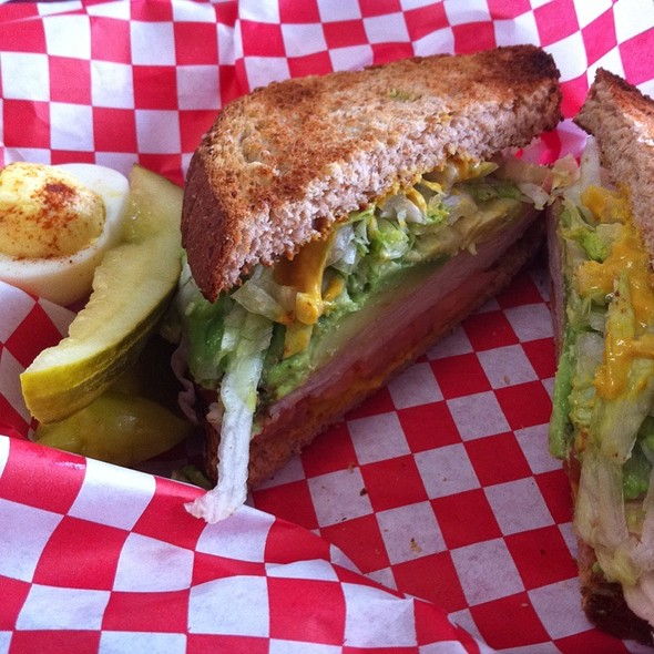 Turkey Sandwich with Avocado @ Norco's Famous Sixth Street Deli and Grill