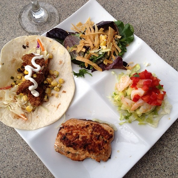 Salmon, Shrimp Ceviche & Fish Taco - Paradiso 37, Lake Buena Vista, FL