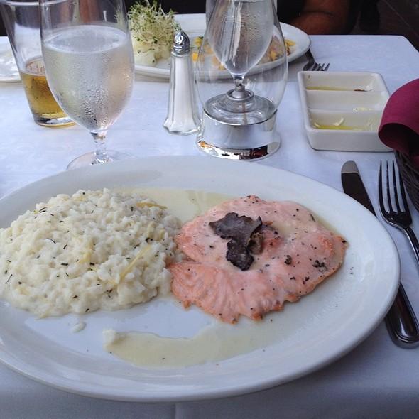 Salmon & Black Truffle Risotto - Bice - Naples, Naples, FL