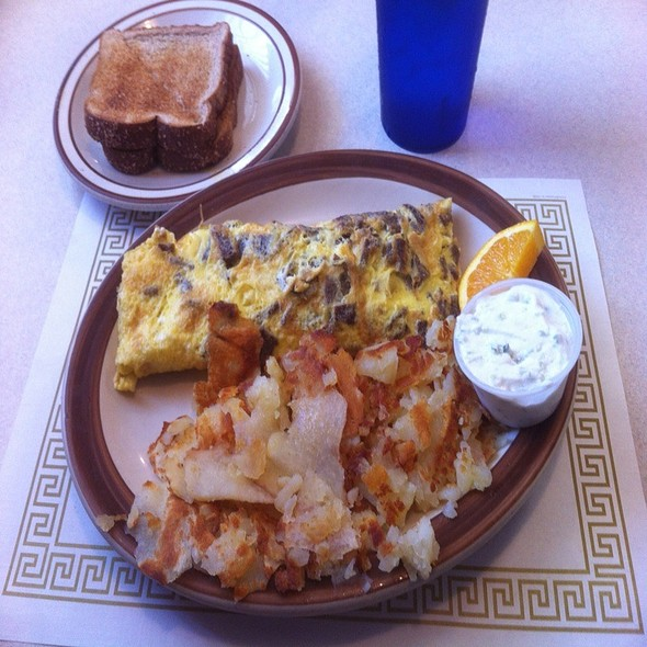 Gyro Omelette @ The Coffee Cup