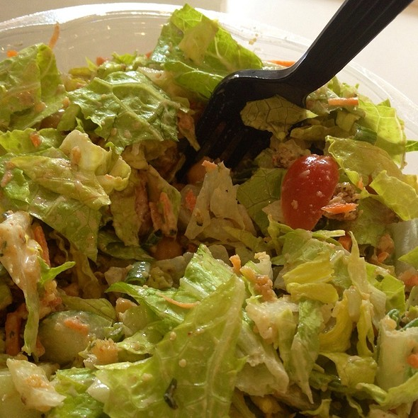 Falafel With Tahini Salad @ Fresh Company