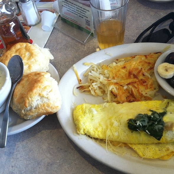 Spinach Omelette @ Jim's