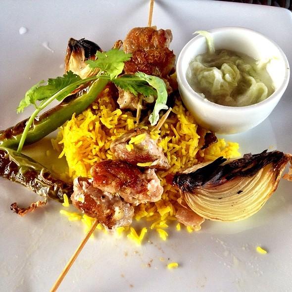 Chicken Kebab And Rice (jooje kabab) @ Manila Polo Club