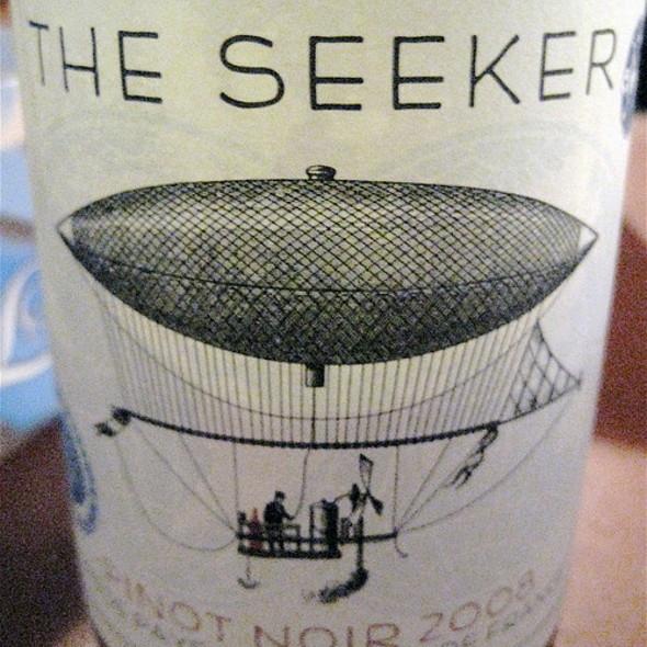 The Seeker Pinot Noir @ Table 3 Restaurant & Market