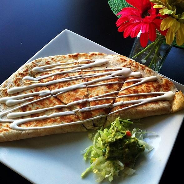 Steak Quezadilla @ The Mexzican Gourmet