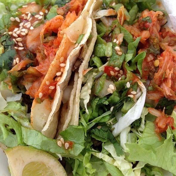 Korean BBQ Tacos @ ChiLantro Korean BBQ + Mexican
