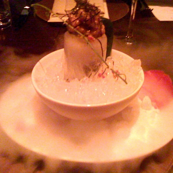 Bluefin Chu Toro Tartar - Brand Steakhouse - Monte Carlo, Las Vegas, NV
