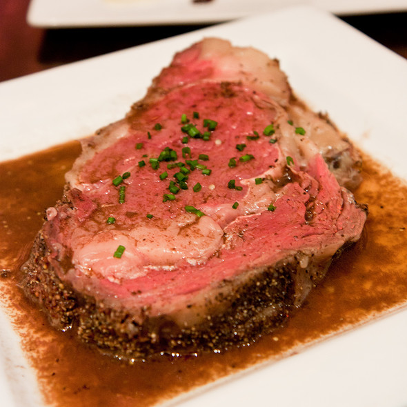 Slow Roasted Prime Rib @ 5A5 Steak Lounge