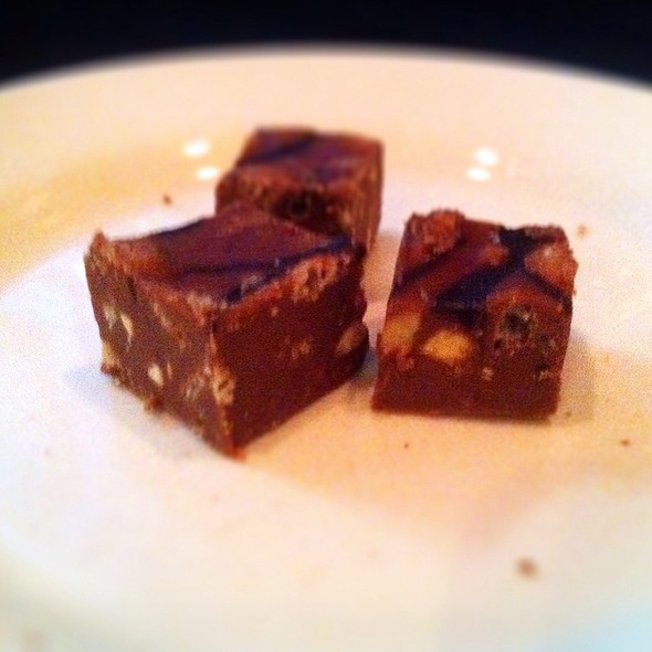 Chocolate Peanut Butter Squares @ Ray's The Steaks
