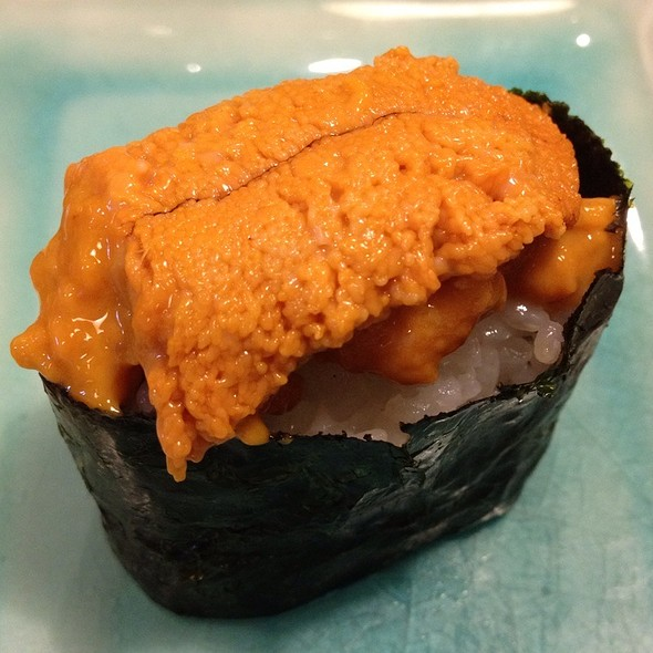 Uni Sushi @ Nara Japanese Restaurant
