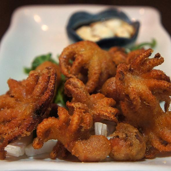 Deep Fried Baby Octopus @ Panya Bistro