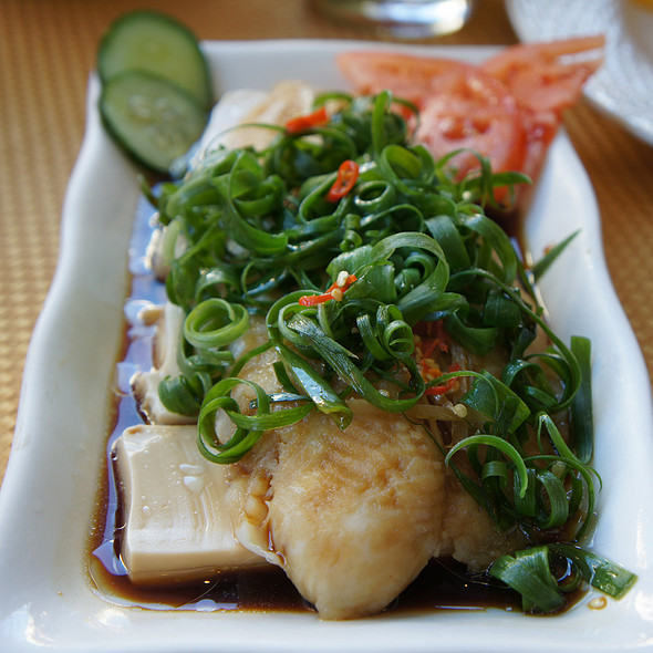 Steamed Fish Fillet With Soy Sauce @ Panya Bistro