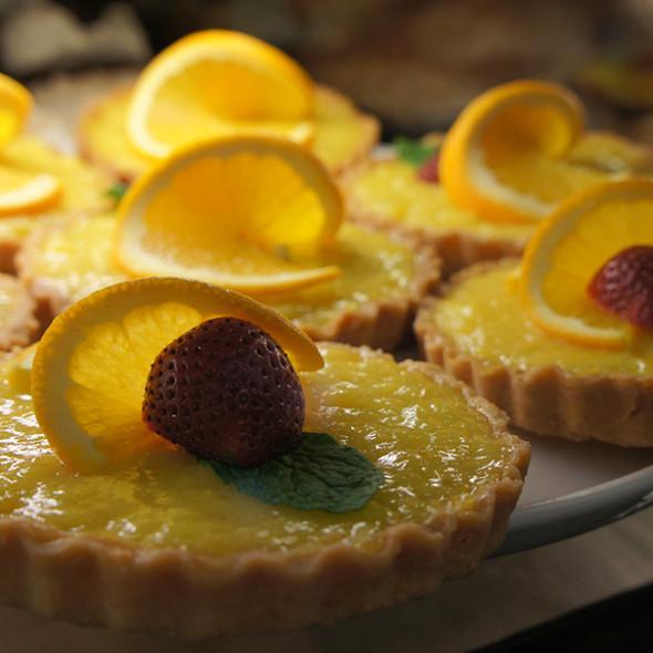 Yuzu Tart @ Leoda's Kitchen & Pie Shop