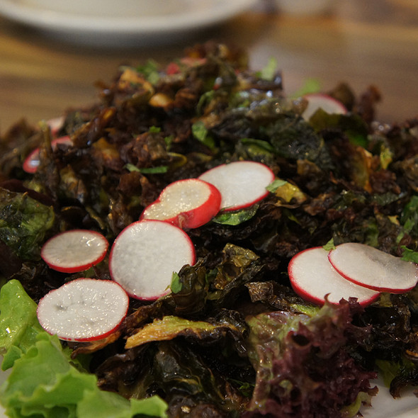 Fried Salad @ Leoda's Kitchen & Pie Shop