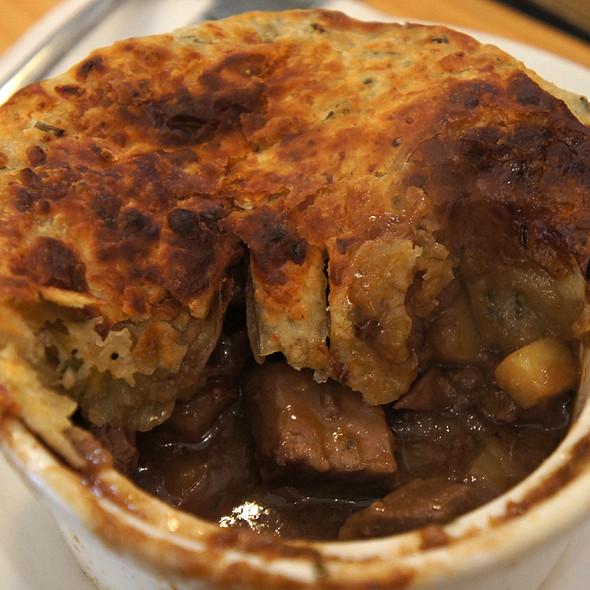 Beef Pot Pie @ Leoda's Kitchen & Pie Shop