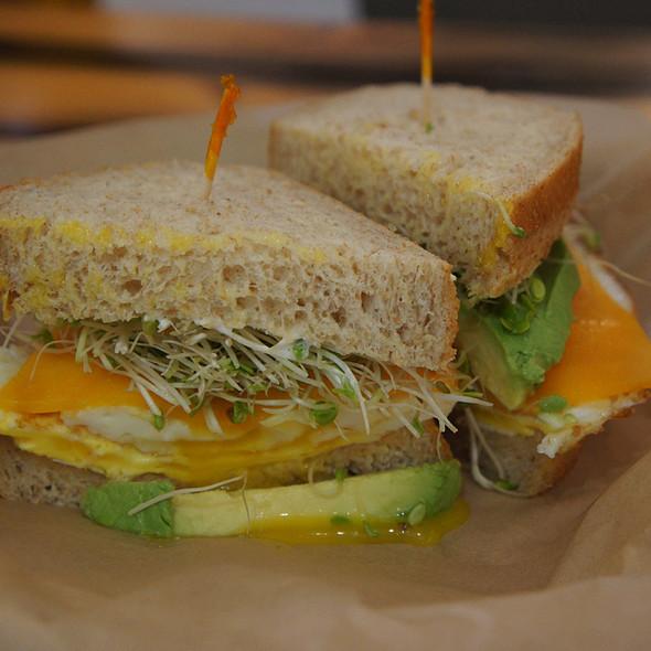 Egg And Avocado Sandwich @ Leoda's Kitchen & Pie Shop