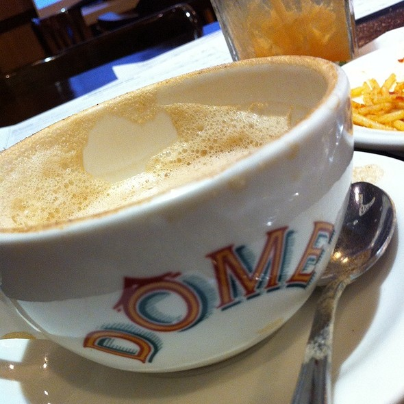 Capuccino @ Dome Cafe