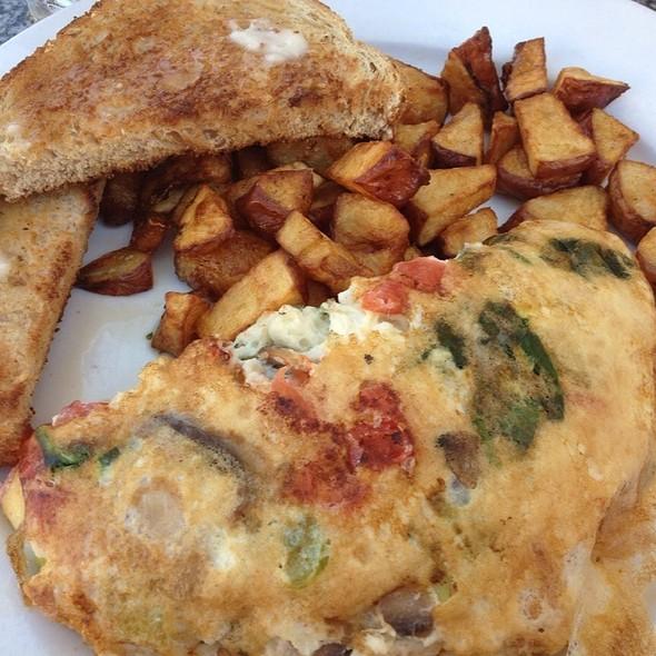 Mediterranean Spanish Omelette - Boheme Bistro, Delray Beach, FL