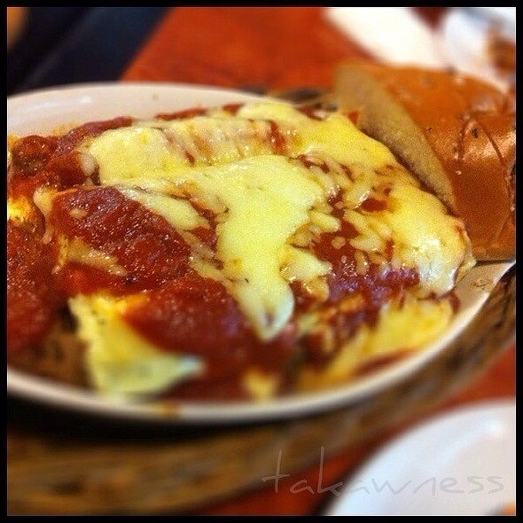 lasagna @ A Venetto Pizzeria Ristorante